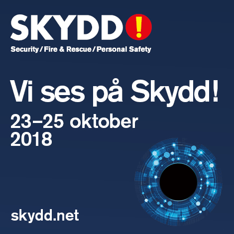MCS to attend the Skydd expo at Stockholmsmässan, Stockholm October 23-25