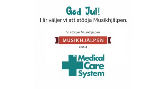 Medical Care System wishes you all a Merry Christmas and a Happy New Year!