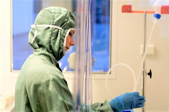renrum sterilitet steril sterila produkter klass 7 SS-EN ISO 14644-1